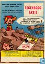 Bandes dessinées - Robbedoes (tijdschrift) - Aanplakbiljet Regenboogaktie 1964