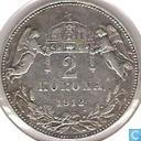 Hongrie 1912 Korona 2