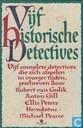 Vijf historische detectives