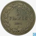 België 5 frank 1834