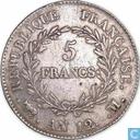 France 5 francs AN 12 (M)