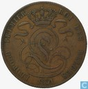 Belgium 5 centimes 1851