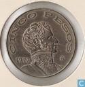 Mexico 5 pesos 1972