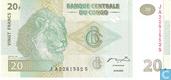 Congo 20 Francs (HDM)
