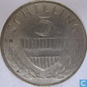 Austria 5 schilling 1971