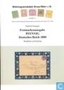 Freimarkenausgabe Pfennig Deutsches Reich 1880