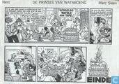 Comic Books - Nibbs & Co - De prinses van Wataboeng
