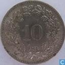 Monnaies - Suisse - Suisse 10 rappen 1969