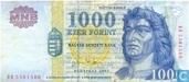 Hongarije 1.000 Forint 2003
