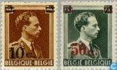 King Leopold III with imprint