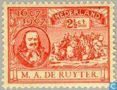 Postage Stamps - Netherlands [NLD] - M.A. de Ruyter