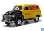 Modellautos - Johnny Lightning - Chevrolet Panel Truck 'Coca-Cola'