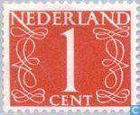 Postzegels - Nederland [NLD] - Cijfer - Type 'van Krimpen'