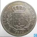France 5 francs 1814 (M)