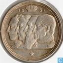 België 100 francs 1951 (VL)
