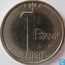 Belgium 1 franc 1994 (NLD)