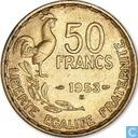 France 50 francs 1953 (B)