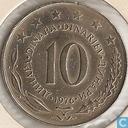 Yugoslavia 10 dinara 1976