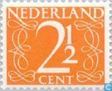 "Briefmarken - Niederlande [NLD] - Mark Typ ""Shrinking"""