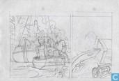 Franka: Het zwaard van Iskander (voorstudie pagina 4)