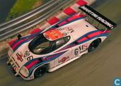 Modelauto's  - Spark - Lancia LC2/83 (Dallara) - Ferrari/Abarth No.6 Le Mans 1983 Nannini - Andruet - Barilla