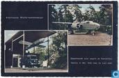 Oorlogsmuseum Overloon. Amerikaanse Mitchell bommenwerper en gepantserde auto waarin de Koninklijke familie in 1940 naar de kust reed.