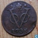 VOC 1 duit 1735 Holland