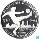 "Benin 1000 francs 1992 (PROOF) ""World Cup Soccer 1992"""