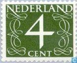 Timbres-poste - Pays-Bas [NLD] - Chiffre type 'van Krimpen'