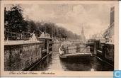 Sluis aan de oude Schans - Amsterdam