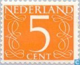 Timbres-poste - Pays-Bas [NLD] - Mark type «rétrécit»