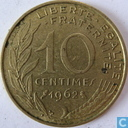 France 10 centimes 1962