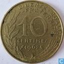 Frankrijk 10 centimes 1962
