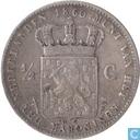 Pays Bas ½ gulden 1860