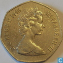Coins - United Kingdom - United Kingdom 50 new pence 1980