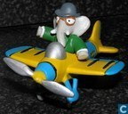 Babar in a plane
