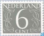 Postage Stamps - Netherlands [NLD] - Digit - Type 'van Krimpen'