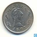 Malta 2 cents 1982