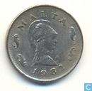Malte 2 cents 1982
