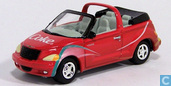 Modellautos - Johnny Lightning - Chrysler PT Cruiser Cabriolet 'Coca-Cola'
