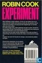 Livres - Cook, Robin - Experiment Doublure van 5261511