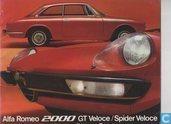 Alfa Romeo 2000 GTV /  Spider Veloce