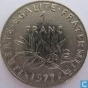 Monnaies - France - France 1 franc 1977