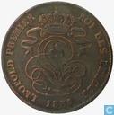Belgium 2 centimes 1856