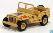 Voitures miniatures - Johnny Lightning - Willys Military Jeep 'Coca-Cola'