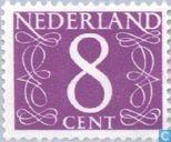 Briefmarken - Niederlande [NLD] - Ziffer -  Typ 'van Krimpen'
