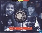 """Coincard België 5 Ecu 1996 """"Unicef"""""""