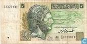 Tunesië  5 Dinars