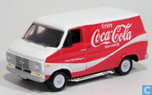 Modelauto's  - Johnny Lightning - Chevrolet G20 Van 'Coca-Cola'