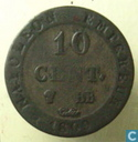 France 10 centimes 1809 (BB)